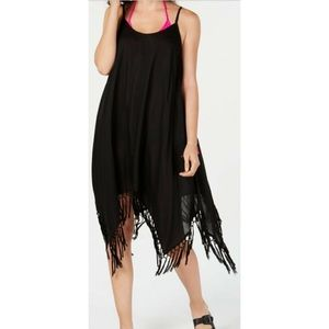 NWT Raviya Cotton Crochet Trim Swimsuit Cover-up